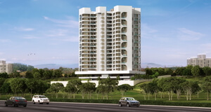 2, 2.5 and 3 BHK flats in Bavdhan. Near Kothrud, Pune at affordable prices  - Mont Vert Cressida