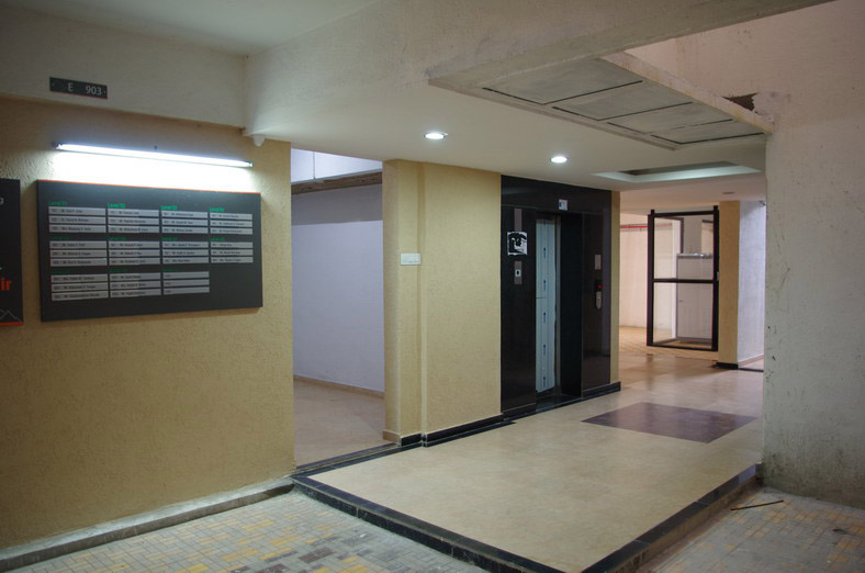 2 BHK Flats For Sale In Bhugaon Mont Vert Belair Lobby