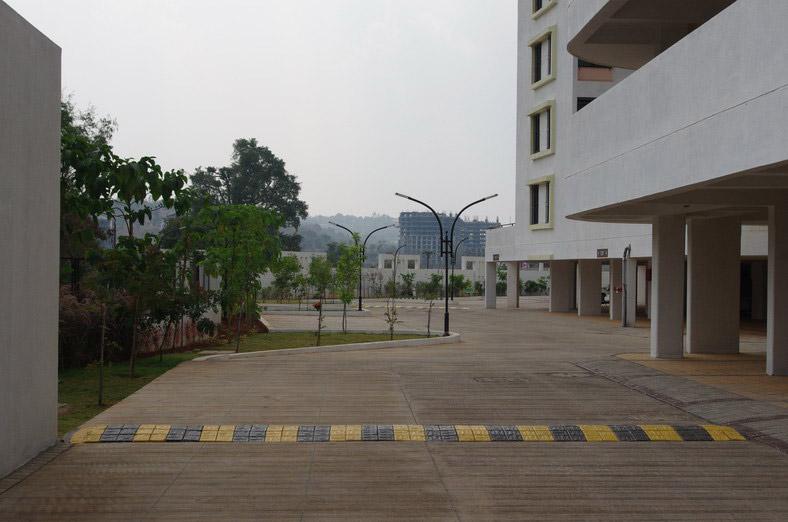 2 BHK Garden Apartments For Sale In Bhugaon Mont Vert Belair Driveway