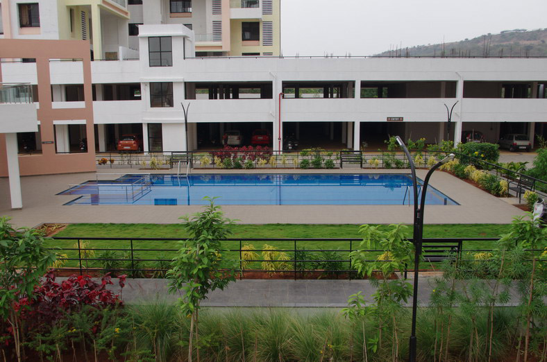3 BHK Flats For Sale In Bhugaon Mont Vert Belair Pool
