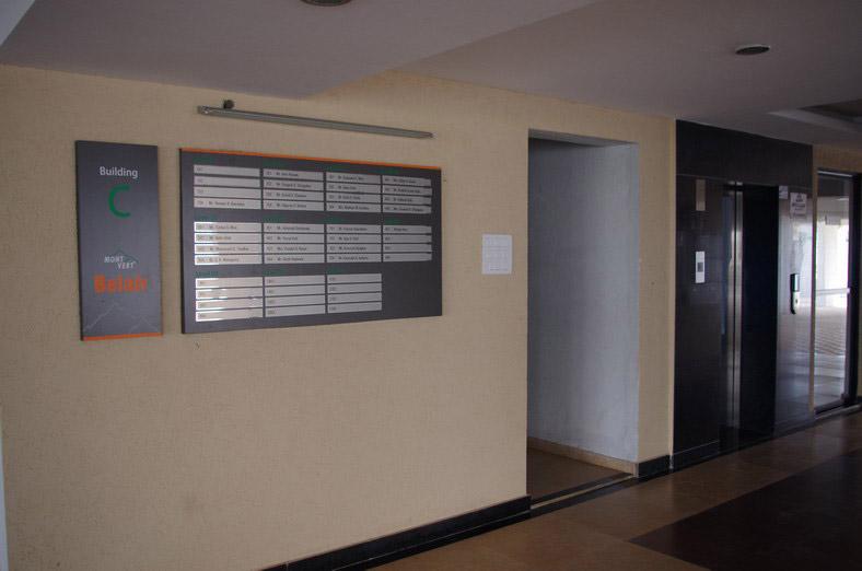3 Bhk Garden Flats In Bhugaon Pune Mont Vert Belair Lobby