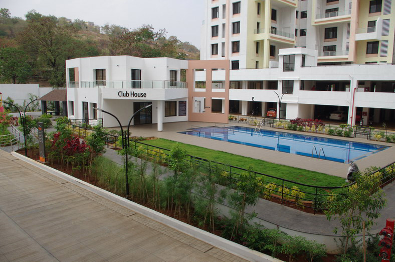 Buy 2 BHK Flats In Bhugaon Pune Mont Vert Belair Club House