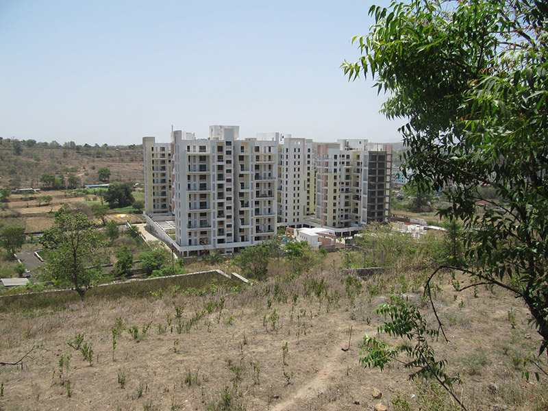 Flats In Bhugaon Mont Vert Belair Aerial View