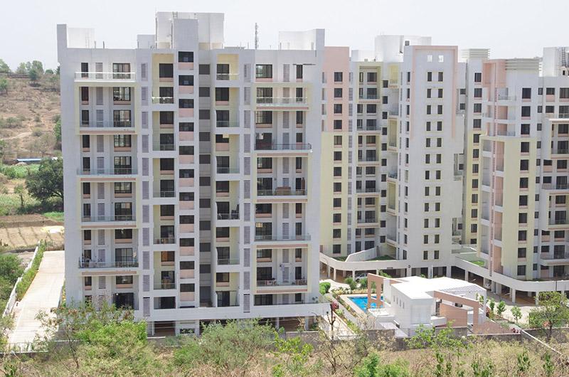 Flats In Bhugaon Mont Vert Belair Closeup