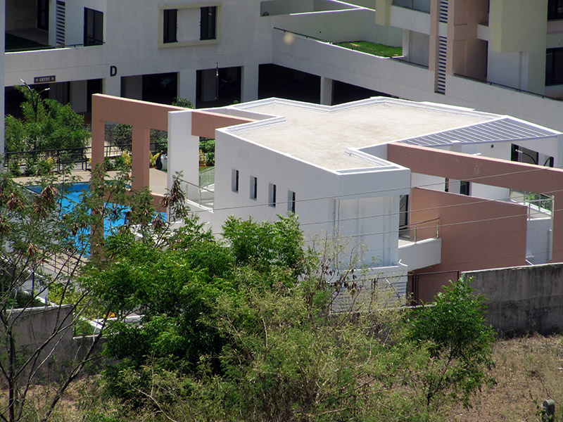 Montver Belair Luxury Apartments In Bhugaon Pune Club Pool