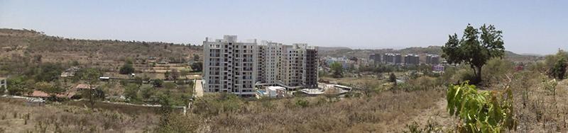 Montver Belair Luxury Apartments In Bhugaon Pune Panaromic