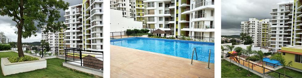 2-3 BHK Flats, Apartments In Bhugaon, Pune - MontVert Belbrook