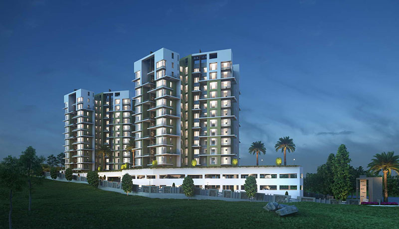 2 & 3 BHK Flats For Sale Bhugaon Pune | Mont Vert Belbrook