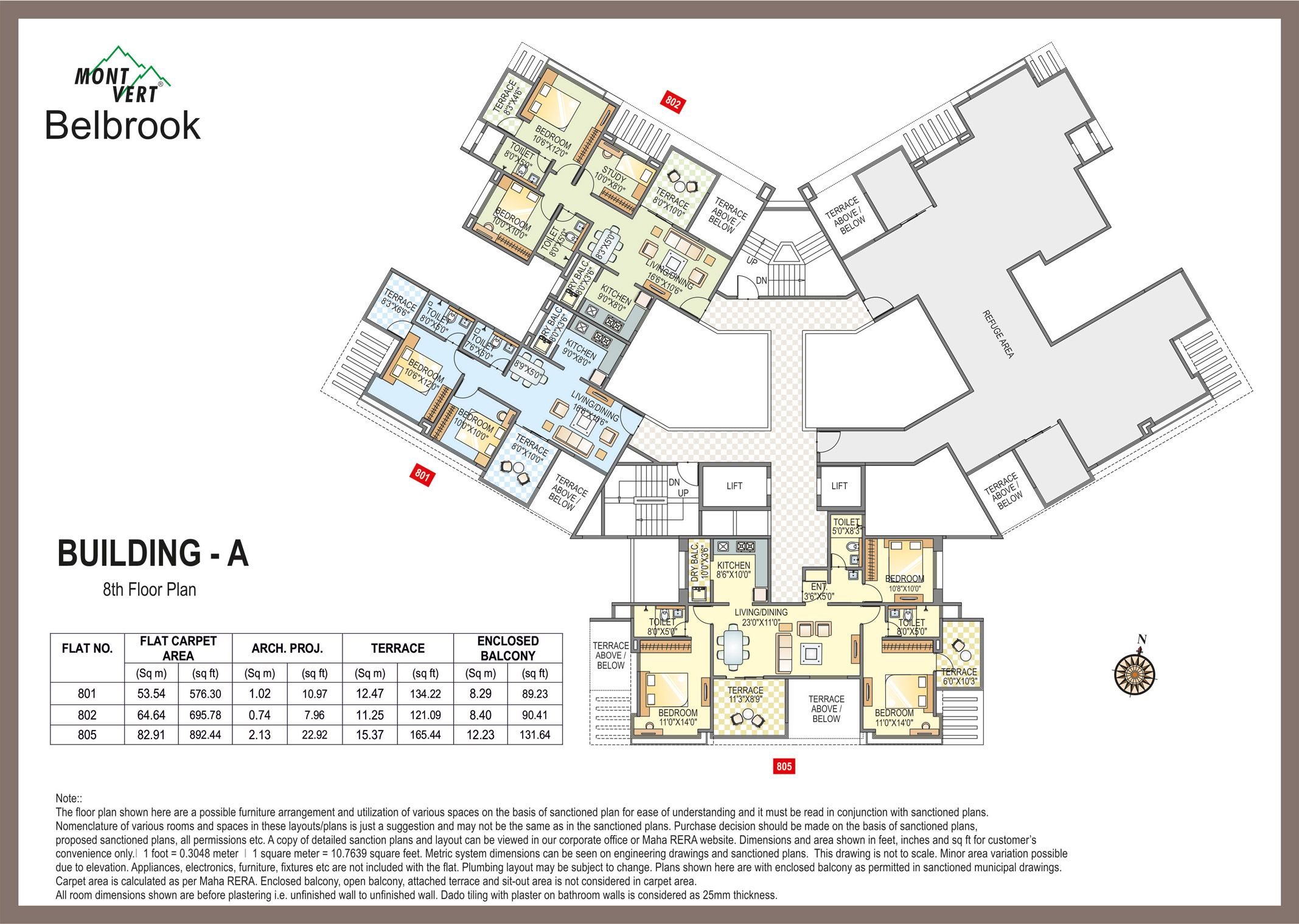 2 BHKAapartments In Bhugaon – Mont vert Belbrook A 8 P