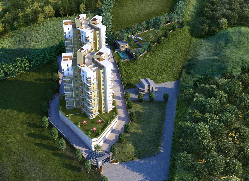 3 BHK Flats For Sale Bhugaon Pune | Mont Vert Belbrook