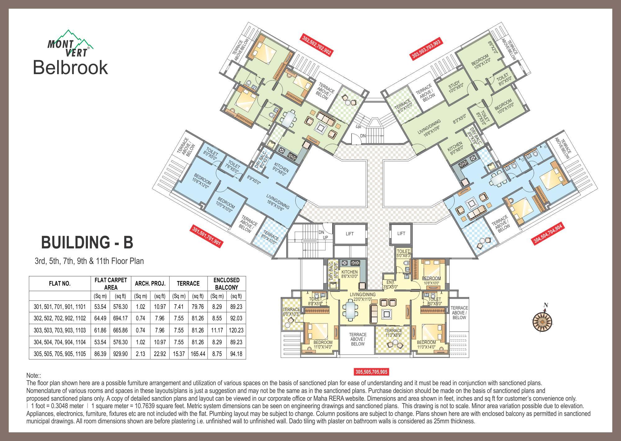 Apartments In Bhugaon Mont Vert Belbrook B Odd P