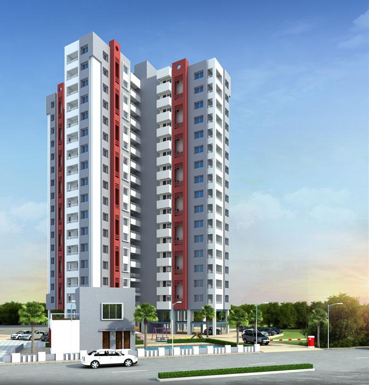 D Building – 3 BHK Flats in Pashann – Mont Vert Grande