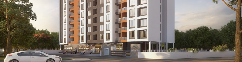 2 BHK flats in Wakad Near Hinjewadi, Pune at Affordable Prices - Mont Vert Sonnet
