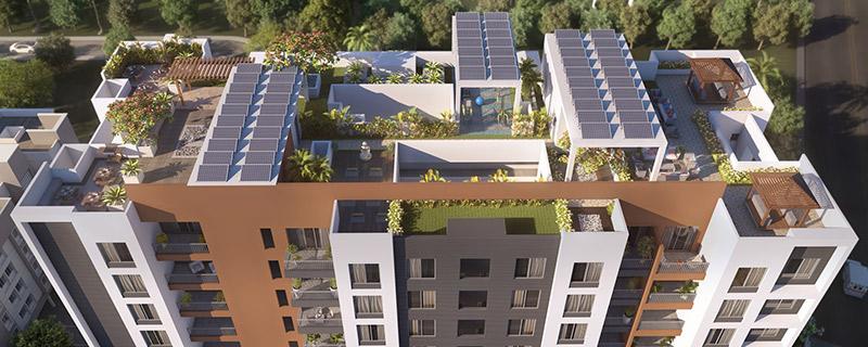 Mont Vert Sonnet 2 Bhk Flats In Wakad Terrace Landscape