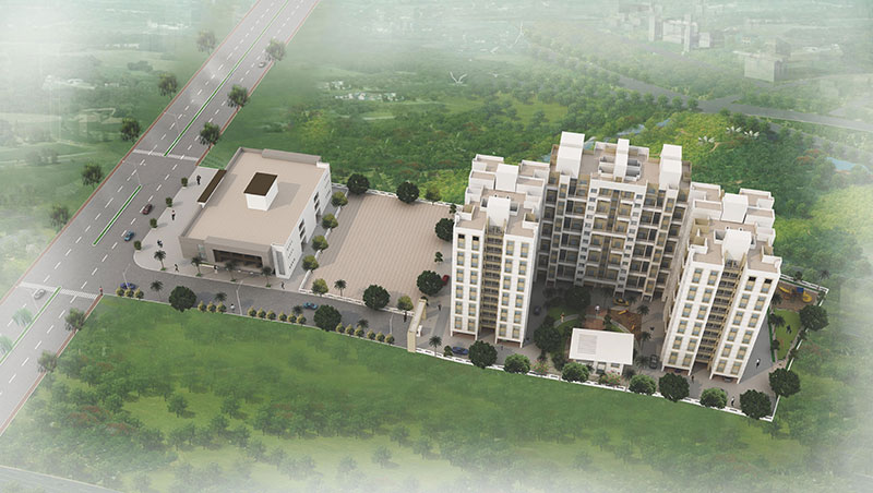 1 BHK Flats Discount Pirangut Pune Sunshine Joy Wakad