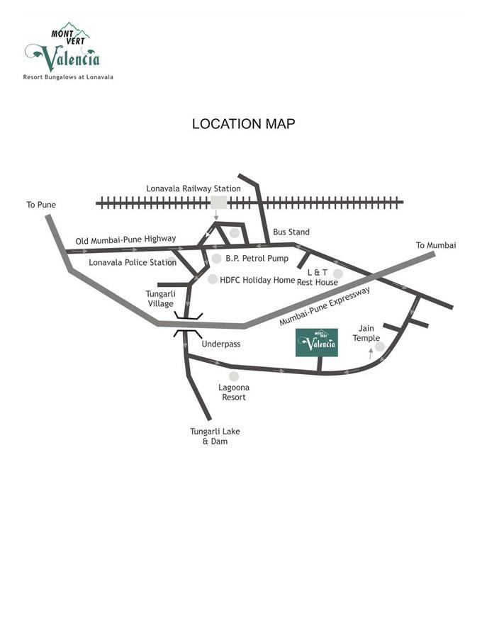 location Map – Mont Vert Valencial 2 Lonavala
