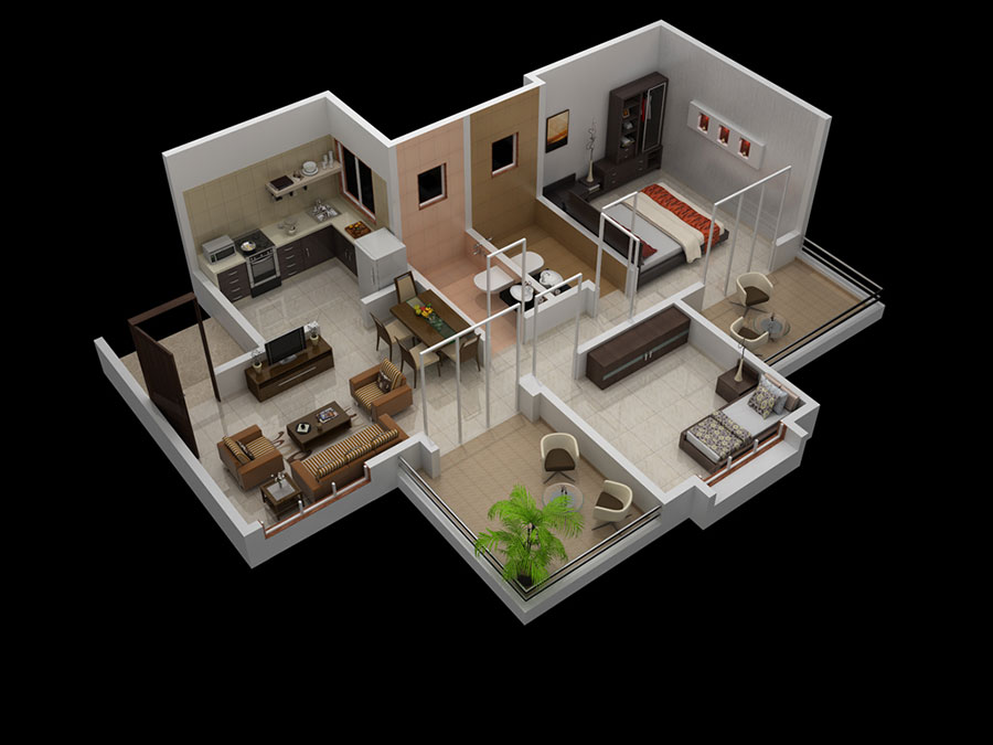 Apartments In Pirangut Mont Vert Vesta Even